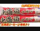 【炭火焼】北海道ソーセージ(魚肉ソーセージ)串焼き!【BBQ修造】26