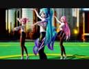 【MMD】ライアーダンス【みくるかてと】