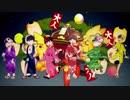 第54位:【おそ松さん人力/手描き】祭.り.だ.ヘ.イ.カ.モ.ン【全松合作】