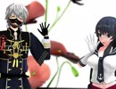 【MMD】阿賀野と鳴狐で『マトリョシカ』【刀艦】