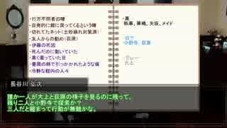 【うっかり連載作品】黒薔薇館の怪~第三話【CoC】