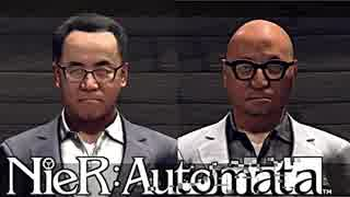 【実況】NieR:Automata これは社長か。それとも敵か。  #60