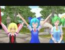 【東方MMD】博麗霊夢とお団子ヒーロー