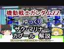 【機動戦士ガンダムZZ】カプール&ザクマ