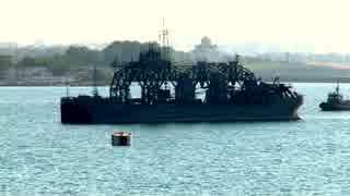 ロシア海軍のサルベージ船「コムーナ」(1913年進水)