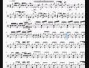 シュガーソングとビターステップ ドラム譜