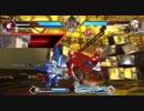 「BLAZBLUE CROSS TAG BATTLE」のBGMを格ゲーの「北斗の拳」にしてみた