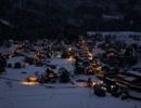 雪を踏む音・雪の上を歩く音と吹雪の音(睡眠用・作業用BGM)