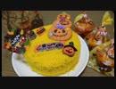 かぼちゃのドゥーブルフロマージュ(ハロウィン仕様) 作りました