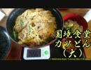 おバイクで国境食堂 カツ丼(大)【VTR250】