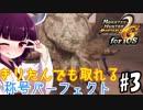 【MHP2G】きりたんでも取れる称号パーフェクト#3