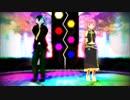 【巡音ルカと狼音アロ】ハッピーシンセサイザ【VOCALOID/UTAUカバー+MMD】