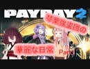 【PAYDAY2】琴葉強盗団の華麗な日常Part1