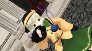 【東方MMD】KiLLER LADY+α【古明地姉妹&お燐&お空】【ぱんつ注意】