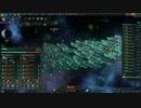【Stellaris】狂気、極大、強度2倍のコンティンジェンシーvs戦艦【Ver1.8.3】