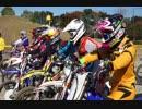 2017 バイクブロス祭りIA、IBライダーたちによる模擬レース