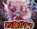 魔法使いと黒猫のウィズ 双翼のロストエデン3 20連ガチャ!