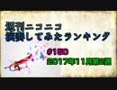 週刊ニコニコ演奏してみたランキング #150 11月第2週
