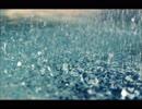 やや強い雨が降る音(雨音のみ、効果音、睡眠用・作業用BGM)