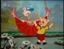 『北朝鮮アニメ』遊園地へ行った豚児 유희장에 간 꿀꿀이