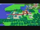 【ポケモンDPPt】シンオウ地方を作りたい64【ゆっくりminecraft】