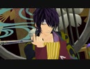 【MMD】高杉さんが扇子で極楽浄土を舞うみたいです