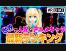第90位:【検証】世界アニメキャラランキング2017in VRChat#2 thumbnail