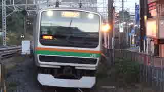 藤沢駅(JR東海道本線)を通過・発着する列車を撮ってみた