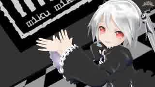 【MMD】 ゴシックあぴミクで♪[A]ddiction♪