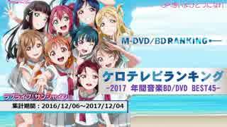 年間アニソンランキング 2017 音楽BD/DVD BEST 45【ケロテレビ】