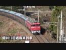 JR貨物/JR東日本 コンテナ貨物列車と臨時回送客車 東北新幹線・警笛付き