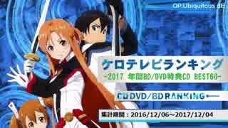 年間アニソンランキング 2017 BD/DVD特典CD BEST 60【ケロテレビ】