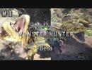 【モンスターハンター:ワールドBeta】冒険から始まる狩猟生活【実況】#1