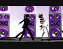 (MMD)Meg&Dia - モンスター[Christoffer H Electro remix] [友情]