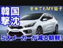 【韓国車5大メーカーが減る朝鮮】 全米販売台数までも鎮目!
