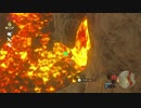溶岩で大きな鳥を焼こうとしてみた