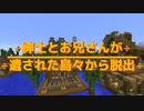 【APヘタリア】紳士とお兄さんが遺された島々から脱出 part9【minecraft】