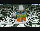 【Minecraft】 わずか6分で「スライド式隠しドア」が作れる動画