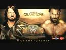 【WWE】AJスタイルズ vs ジンダー・マハル(1/2)【COC17】