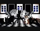 【進撃のMMD】兵長と団長とハンジさんで虎視眈々【兵長誕2017】