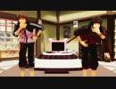 【MMD戦国BASARA】真田幸村達で『おなかすいたぬき』後、佐助さん。