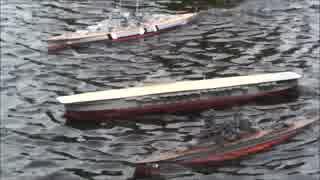 ラジコン艦船走航記録2017