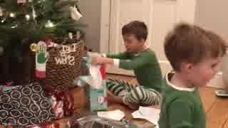 【2017年クリスマス】Switchをプレゼントされて歓喜する子供たち