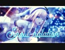 【MMD刀剣乱舞】Snow*halation【粟田口短刀1080p対応】