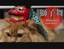【マンチカンズ】獅子舞ニャンコ