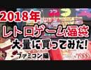 【福袋開封】2018レトロゲーム福袋を大量に買ってみた!【ファミコン編】