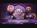 【WWE】エンツォ・アモーレ(ch.)vsセドリ