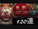【シノアリス】120連!福袋ガチャSレア10以上確定!