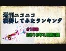 週刊ニコニコ演奏してみたランキング #158 1月第2週