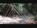 第49位:ホモと学ぶ草テントの作り方.Primitive Technology thumbnail